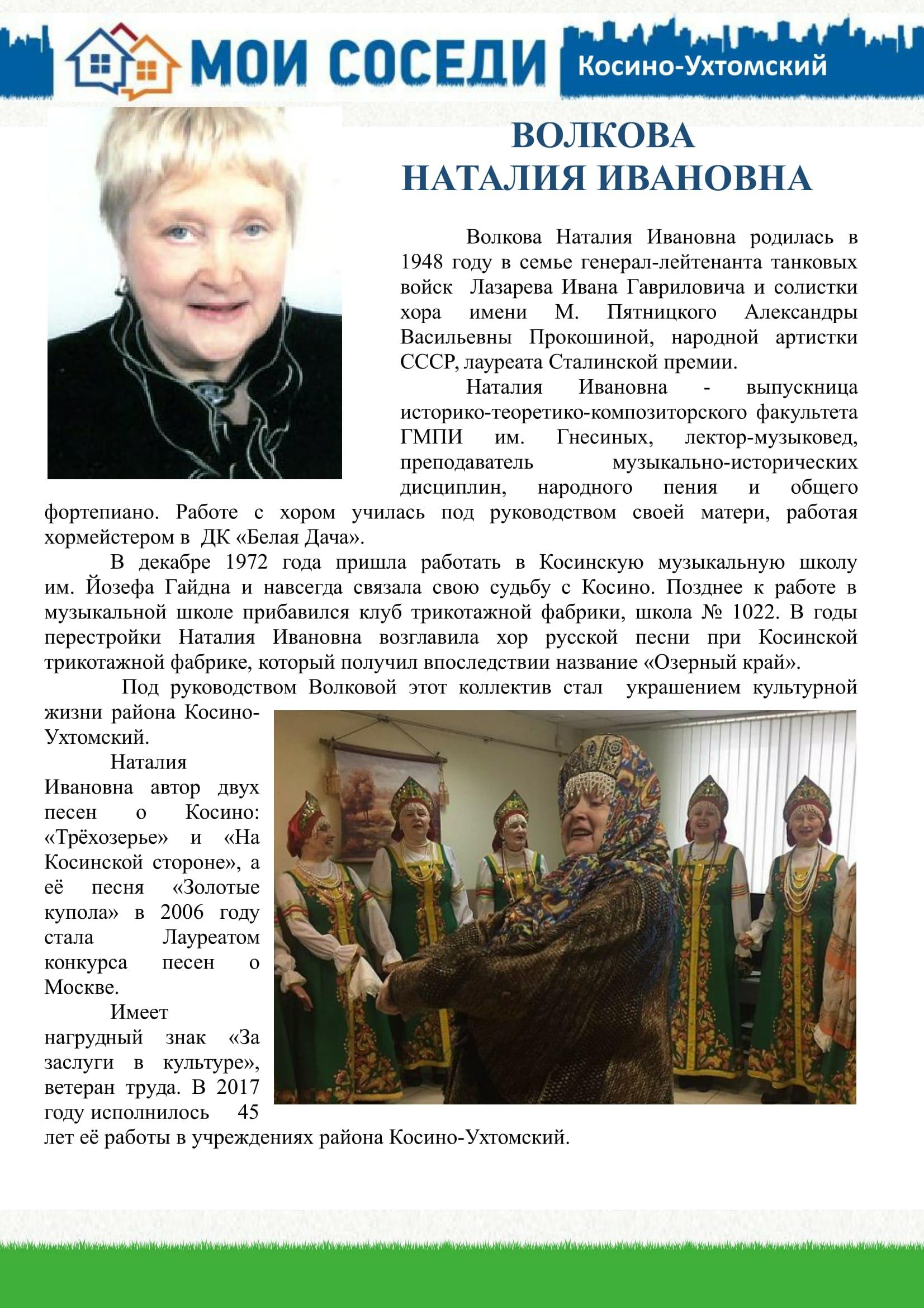 Волкова-1